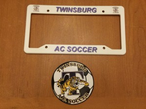 License Plate Frames ($2), Magnets ($3)