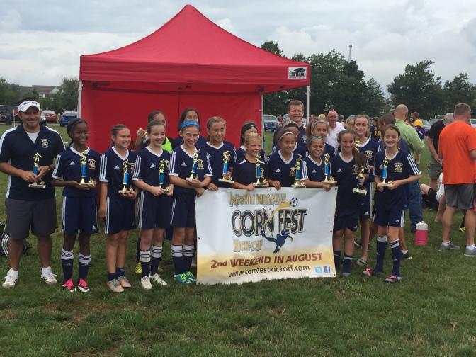 Girls U13 White Team Wins!!